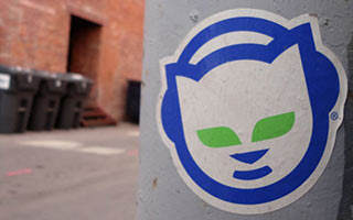 Napster file sharing