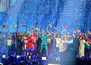 La finale dell'Eurovision Song Contest 2014